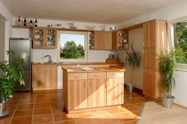 Fotos y diseños de cocinas en madera | Ideas para decorar, diseñar y ...