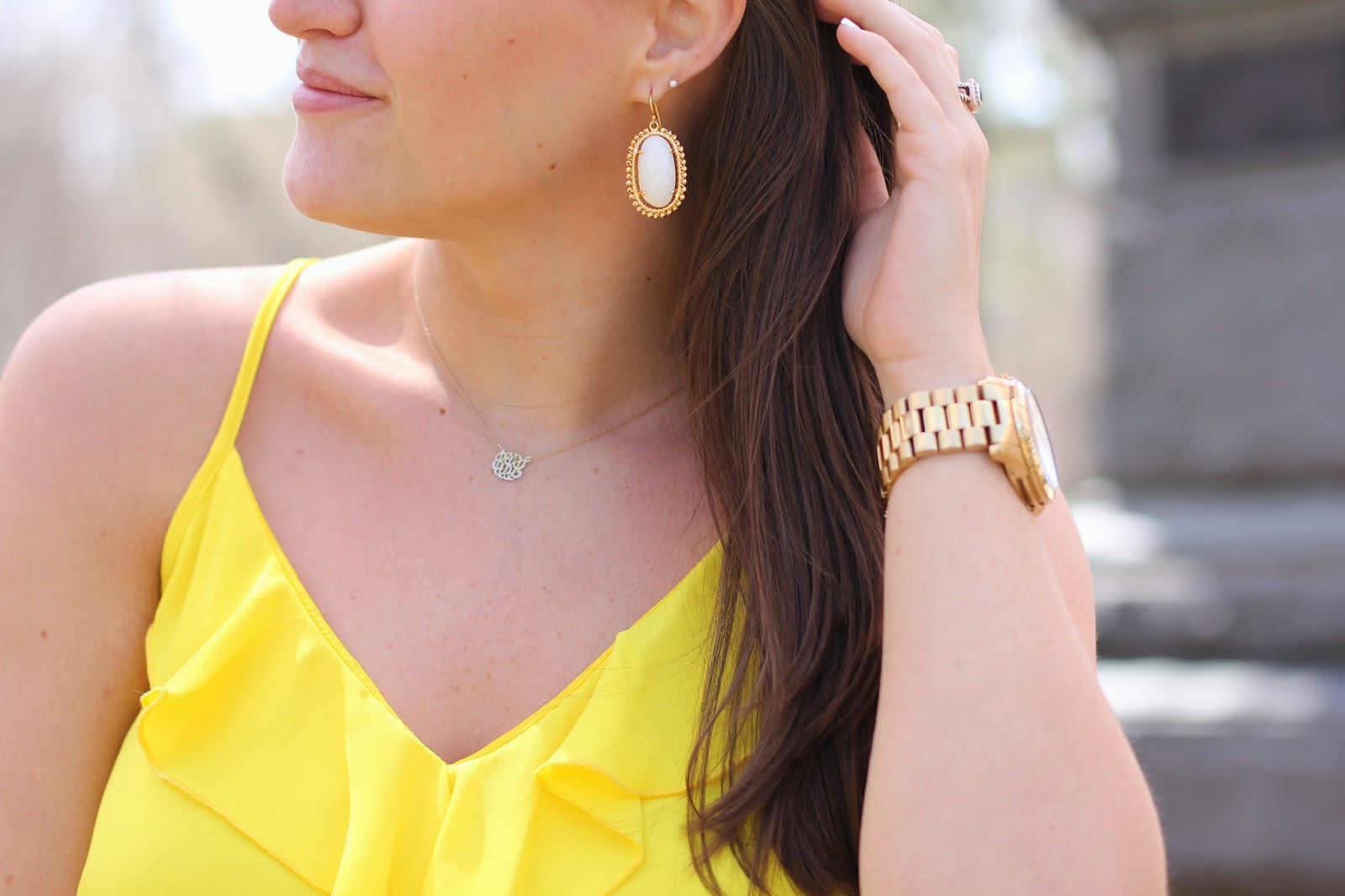 lisi lerch earrings, lisi learch, lisi learch blogger, lisi lerch jenny earrings