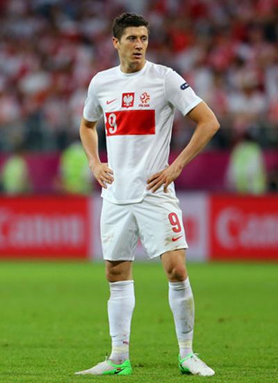 Lewandowski Borussia Dortmund 2012