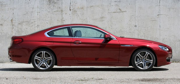 2012 BMW 6 Series Coupe side view