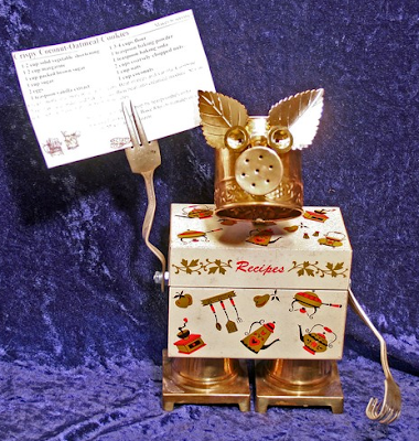 recipe box robot