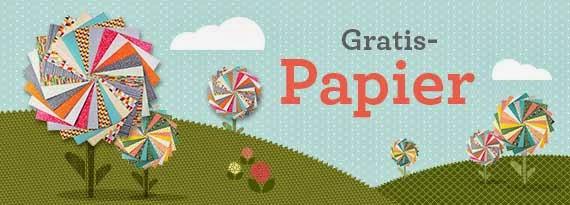Gratis-Designpapier