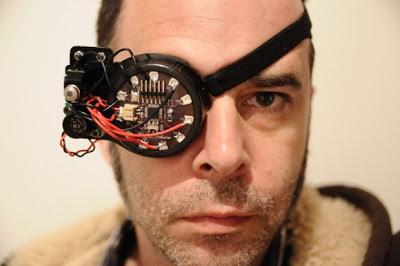tapa-olho eletrônico com Arduino