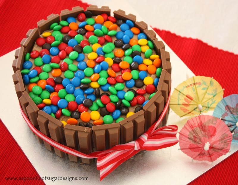 Kit Kat Birthday Cake A Spoonful Of Sugar Bloglovin