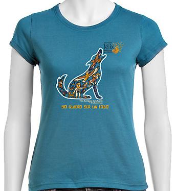 camiseta Félix Rodríguez de la Fuente Kukuxumusu