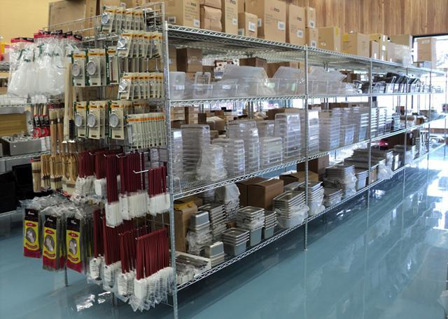 Discount restaurant supply showroom