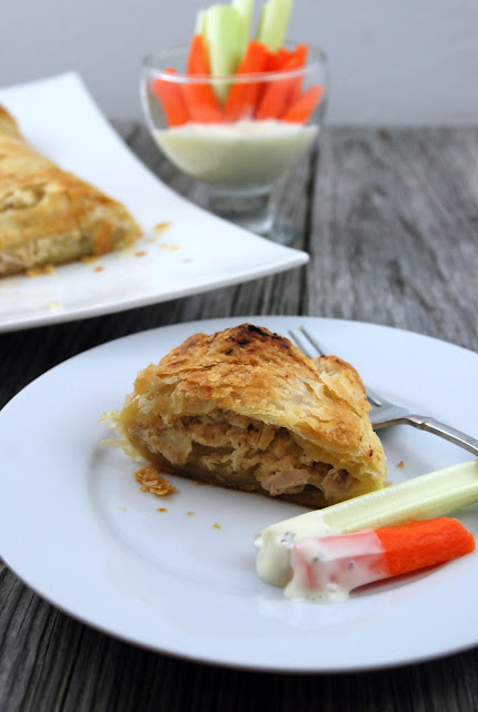 Buffalo Chicken Stromboli - Katie's Cucina