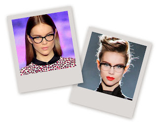 Eyeglasses from Fall 2013 runway shows
