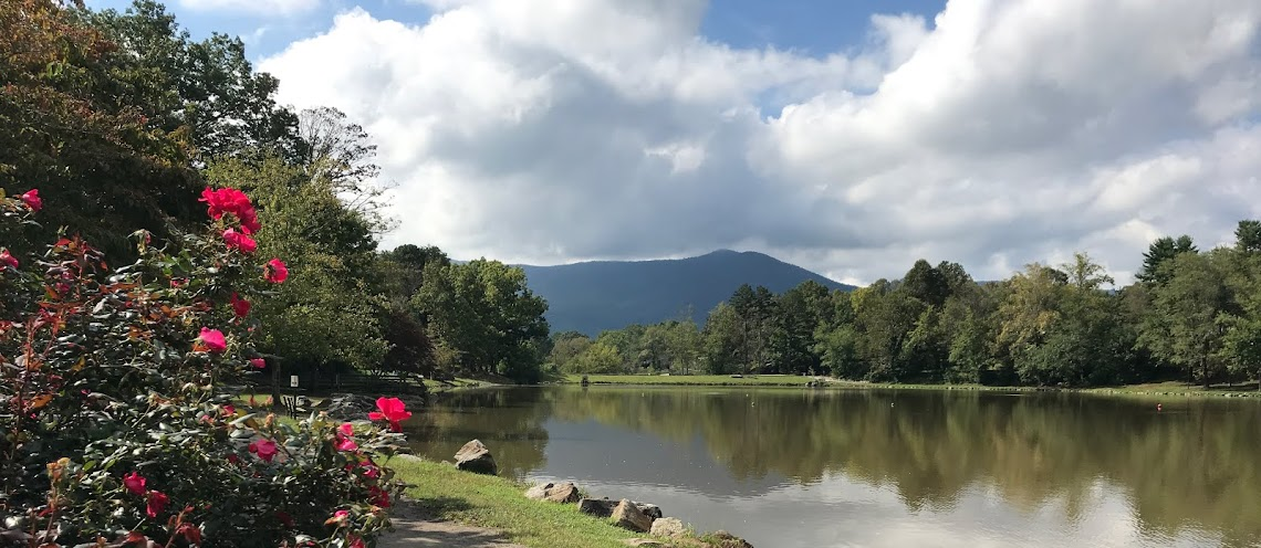 ^Living in Black Mountain, NC