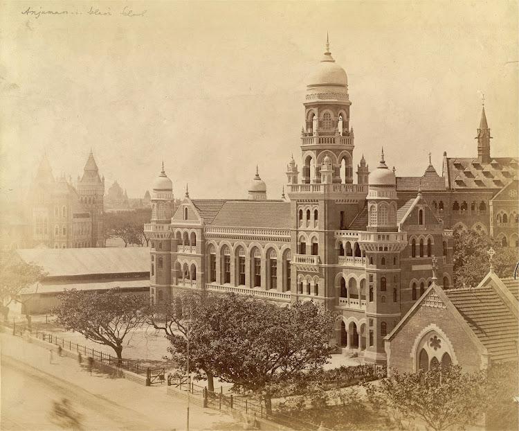 Anjuman-i-Islam School in Bombay (Mumbai) - c1890's