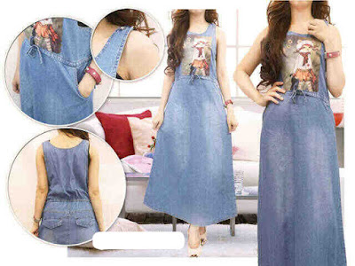 overall jeans boneka