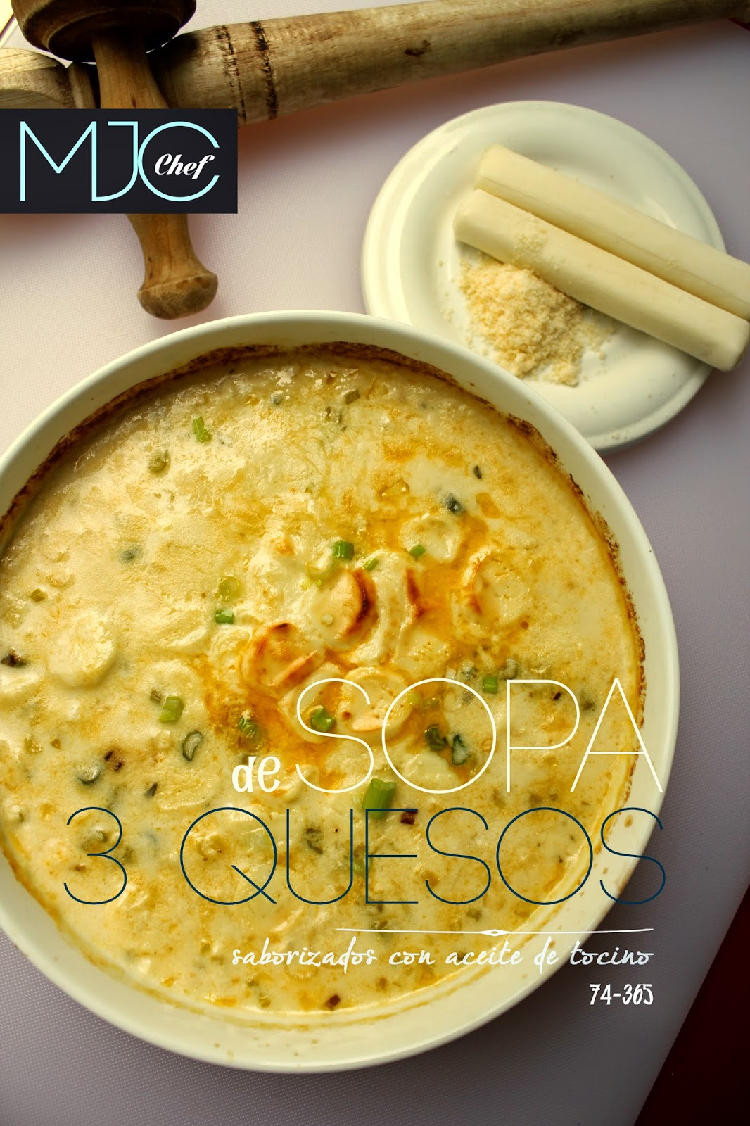 Sopa de quesos