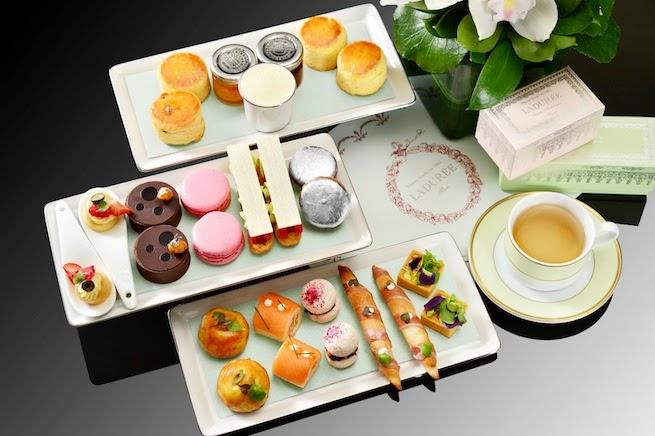 【Afternoon Tea分享】無敵主題,禮物價值超tea set*MO BAR x LADURÉE下午茶