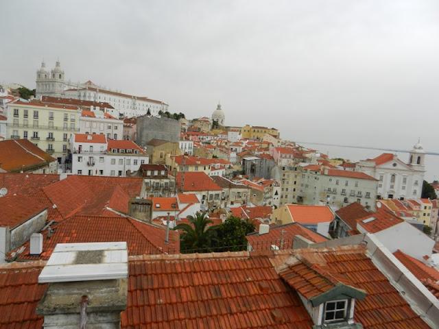 Лиссабон панорама города