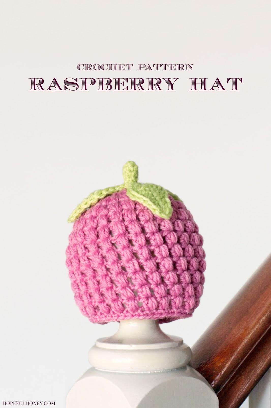 Newborn Raspberry Hat - Interweave