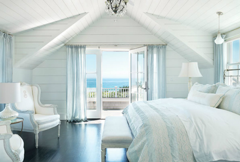 Coastal home spotted from the crow 39 s nest beach house tournantucket beach cottage Beach house master bedroom ideas