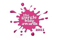RUNNER UP IN THE GURGLE 2011 BLOG AWARDS