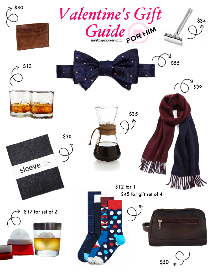 Valentine's Day Gift Guide for Him - under $60