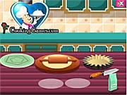 Bánh táo Mỹ, chơi game làm bánh online
