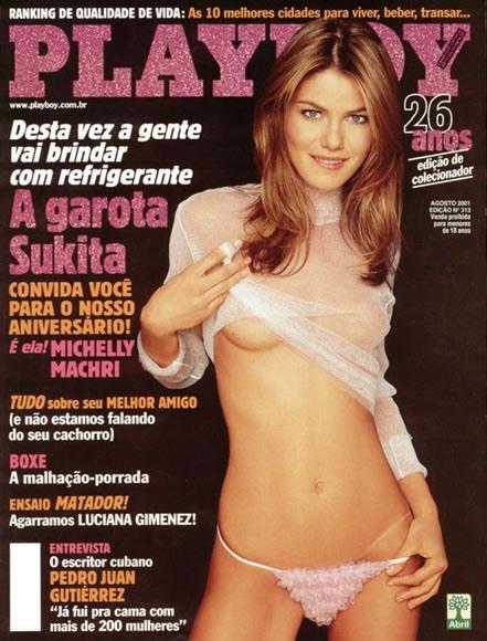 Michelly Machri, A Garota Sukita - Playboy 2001