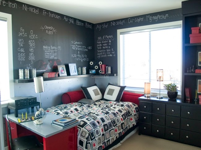 Cuartos juveniles para espacios peque os dormitorios - Habitaciones en espacios reducidos ...
