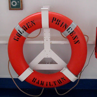Life Preserver, Golden Princess