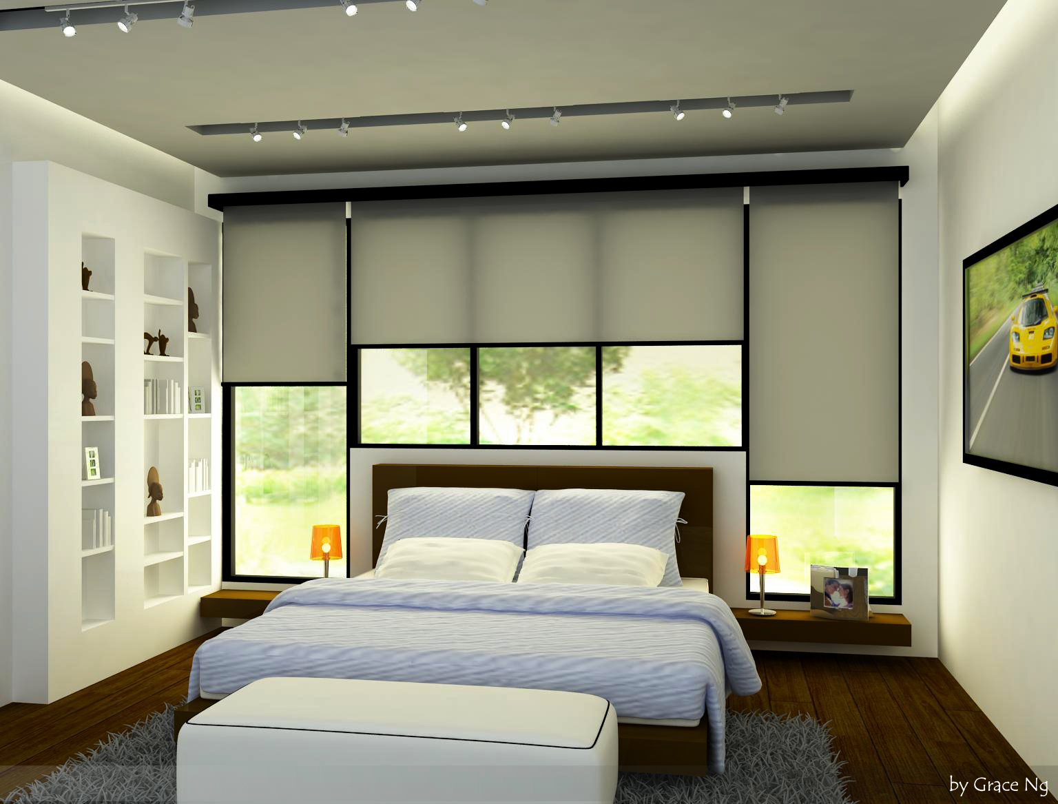 Proposed Interior Design For Bungalow At Ampang Hilir Bedroom 4