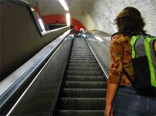 ejercicio moderado subir escaleras