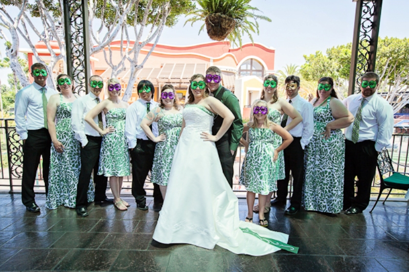 Real Disneyland Weddings   Jaime And Seanu0027s Downtown Disney Jazz Kitchen  Wedding! // White