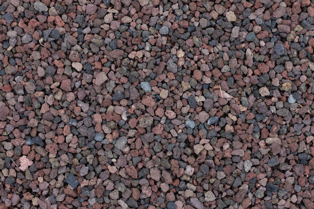 Small coloured stones texture