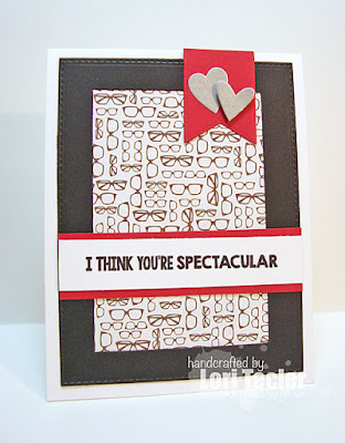 You're Spectacular card-designed by Lori Tecler/Inking Aloud-stamps and dies from My Favorite Things