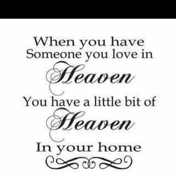 Someone You Love In Heaven