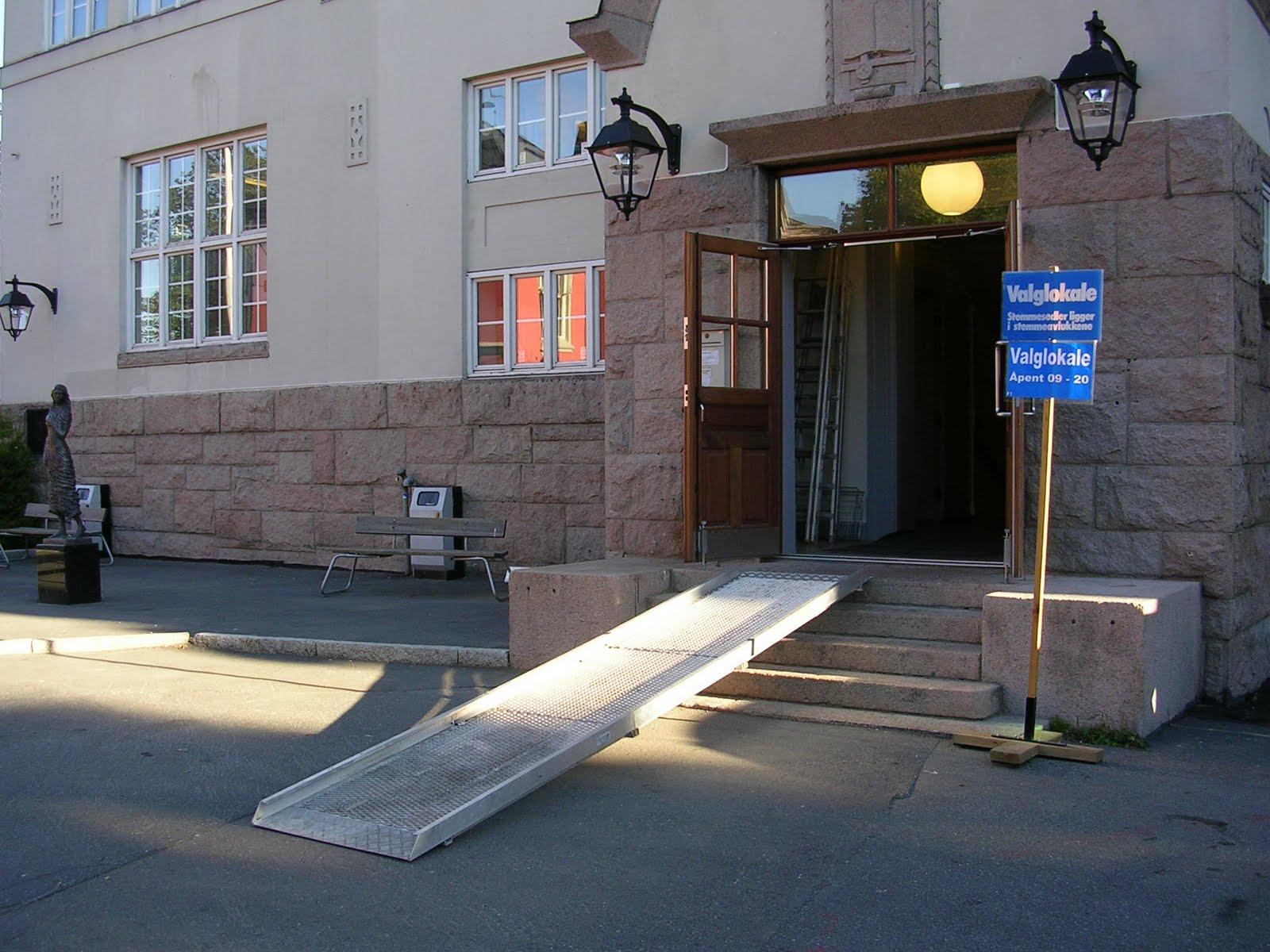 universell utforming krav rullestol