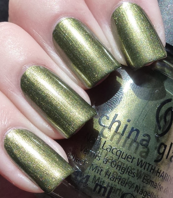 Agro, China Glaze, Hunger Games Collection, Secret Sauce, Enchanted Polish