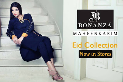 Maheenkarim Eid Collection For Bonanza