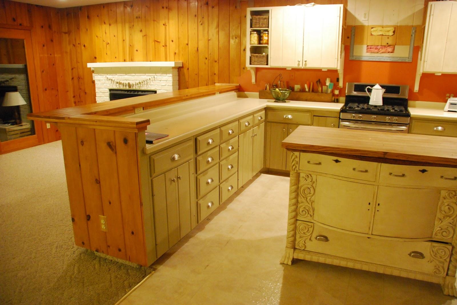 Removing Kitchen Island Cabinet