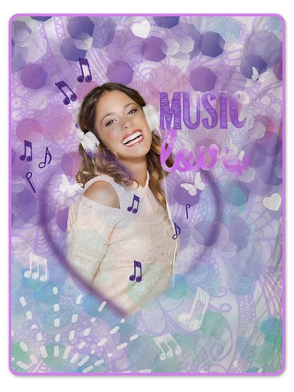 Violetta music Gamanatura.  manta raschel