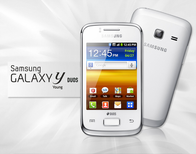 Smartphone Samsung Galaxy Y Desbloqueado Prata - Android Processador