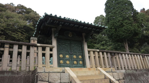 The mausoleum of Tokugawa Yoshinao, Jokoji