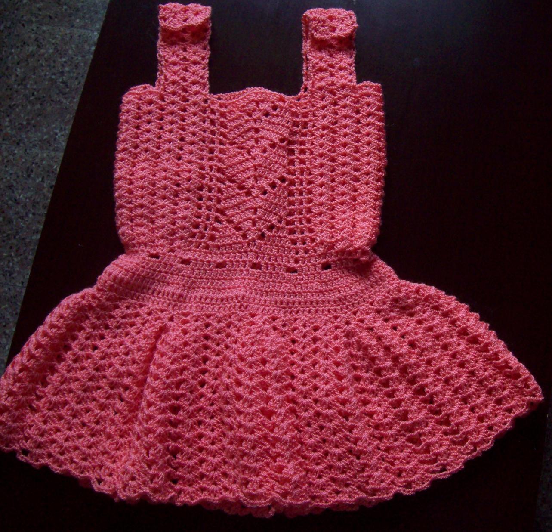 Crochet Paso A Paso: Vestido de hilo en crochet