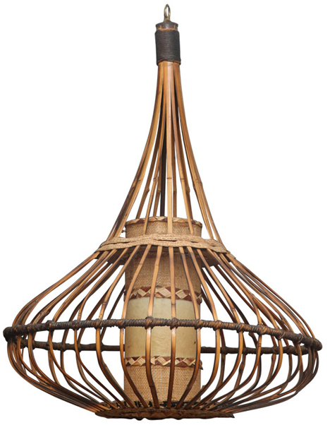 Natural beauty angie hranowsky modern interiors in charleston sc 1960s rattan chandelier aloadofball Images