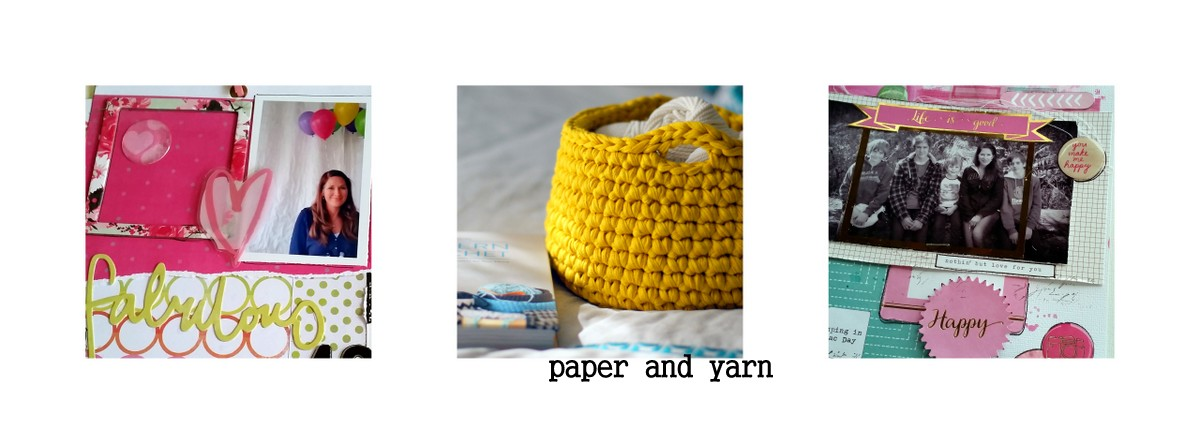 paper and yarn