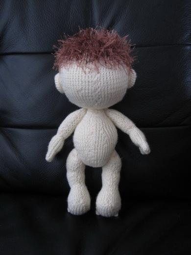 Вязание спицами - Пупс.