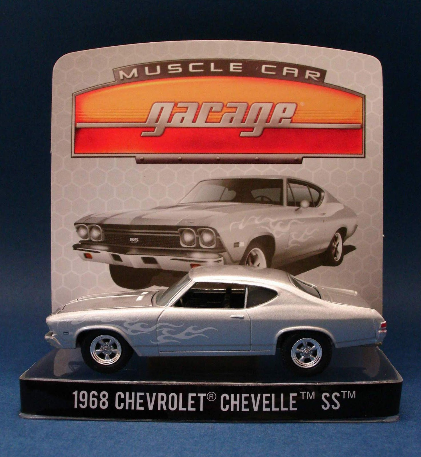 Diecast Hobbist 1968 Chevrolet Chevelle Ss 164 Scale From Greenlight Muscle Car Garage Stock Custom Series 10