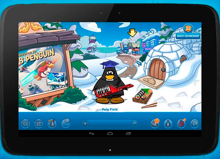 Club Penguin en Android