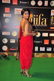 Shriya Saran in Designer Saree Choli at IIFA Utsavam 2016