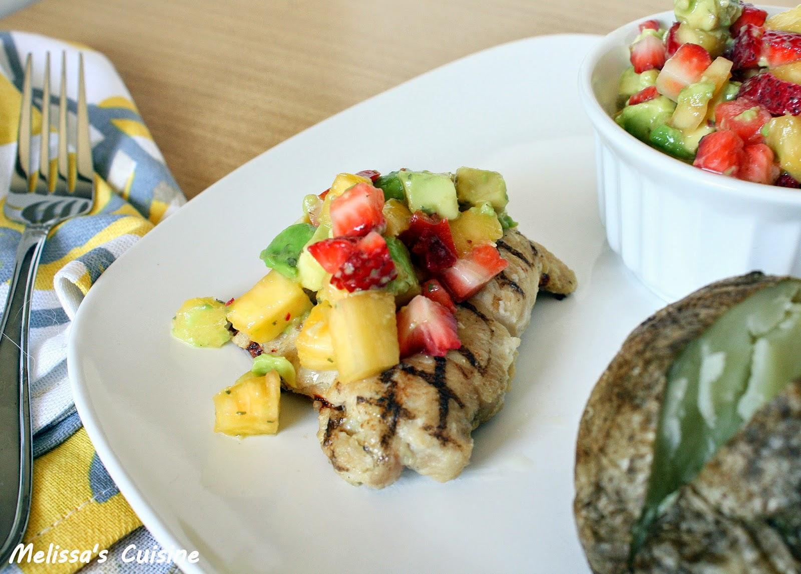 Melissa's Cuisine: Fruit Salsa