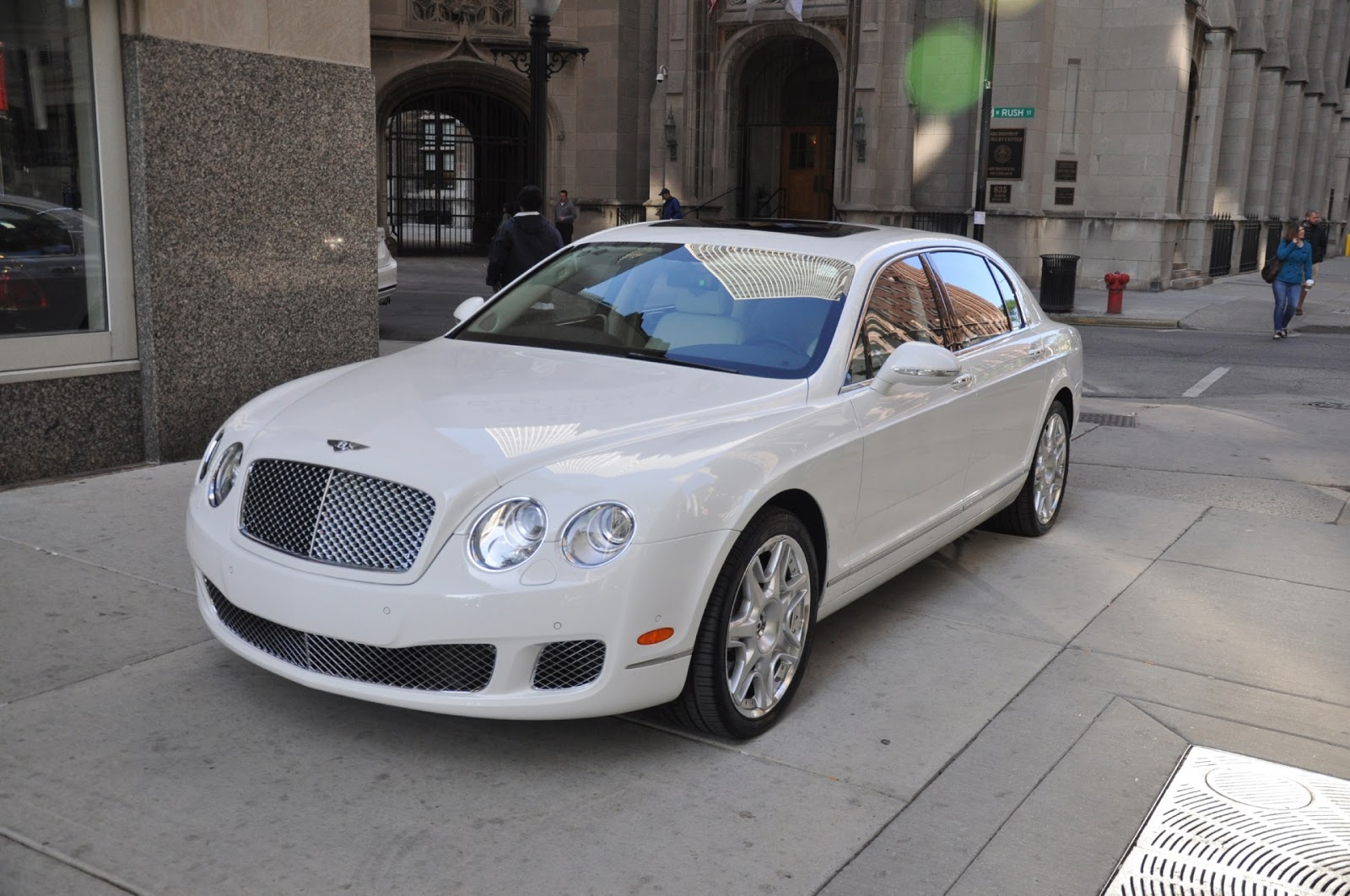 The Together Project White Bentley Continental Flying Spur