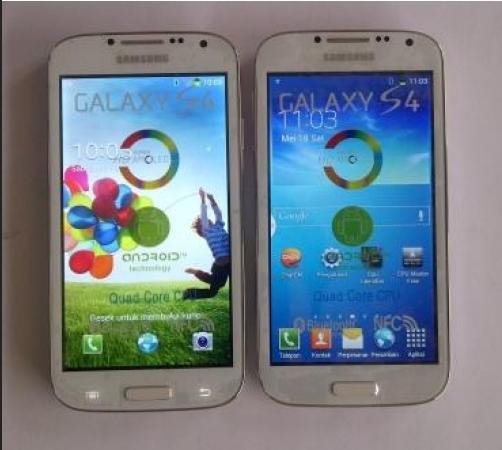 Membedakan Galaxy S4 'KW' Dengan Yang Asli
