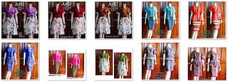Macam-Macam Batik Dress